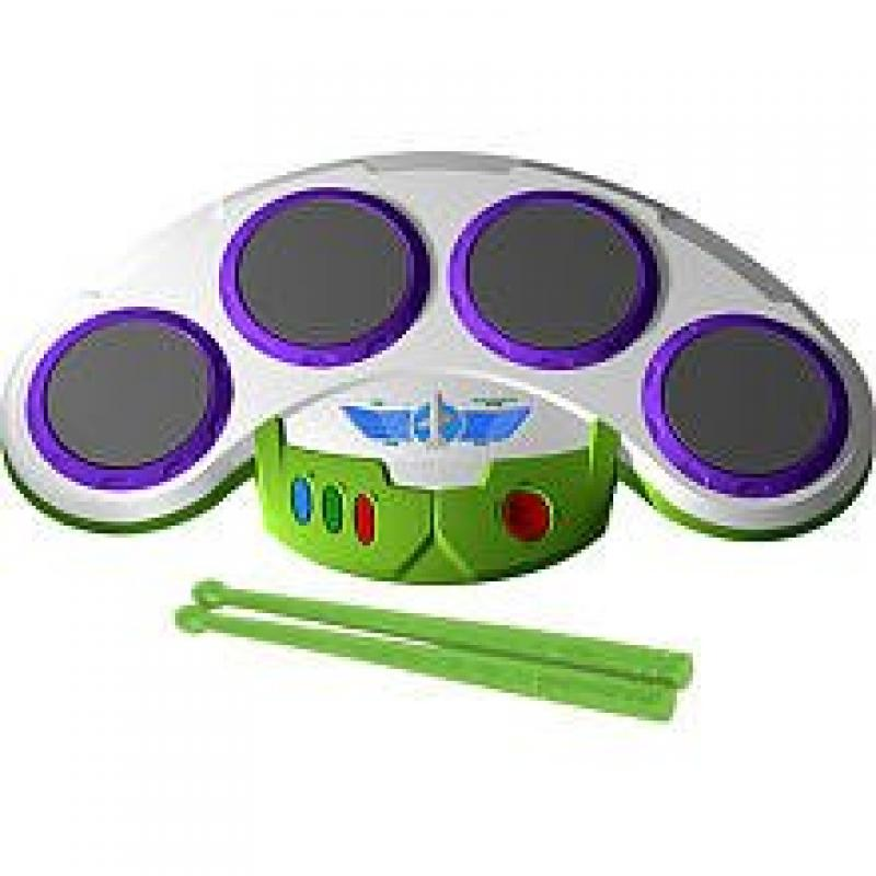 First Act Toy Story 3 Buzz Lightyear Star Command Drum Pad