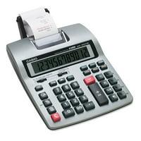 Casio HR-150TM Two-Color Printing Calculator, Black/Red Print, 2.4 Lines/Sec