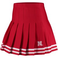 Nebraska Cornhuskers ZooZatz Women's Rah Rah Cheer Skirt - Scarlet