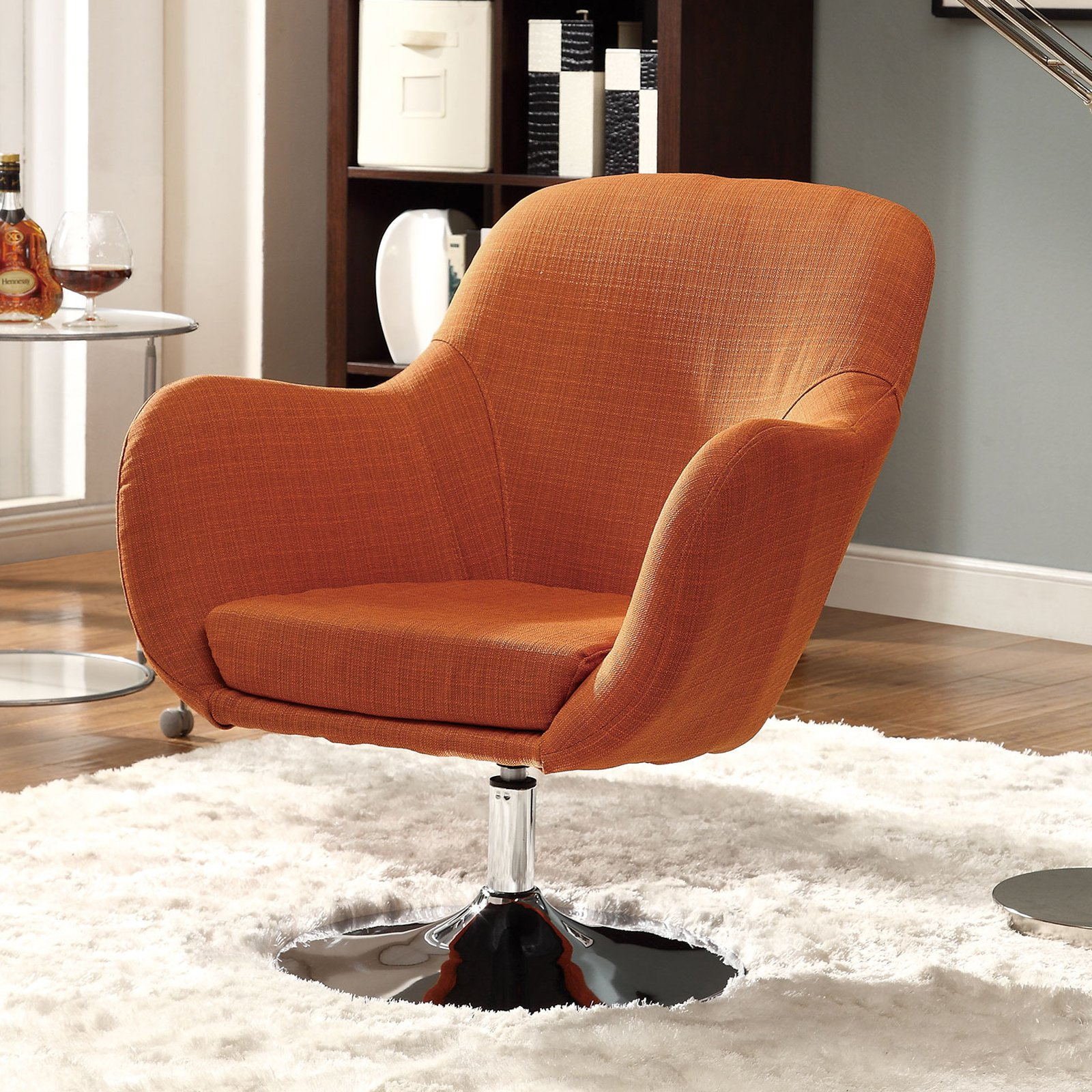 Coaster Company Accent Chair, Orange