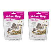 (2 Pack) Wardley Algae Discs Fish Food, 3.0-oz.