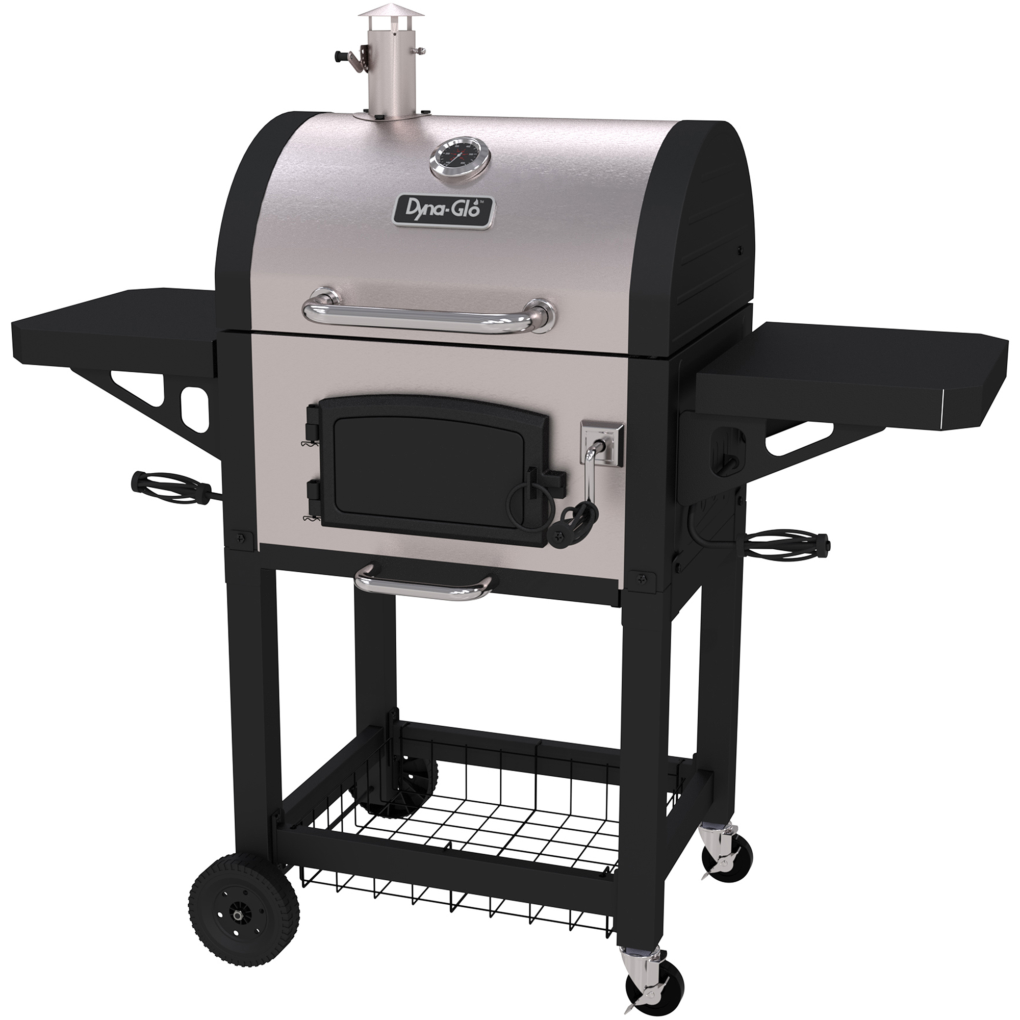 Dyna-Glo DGN405SNC-D Stainless Heavy-Duty Charcoal Grill by Charcoal Grills