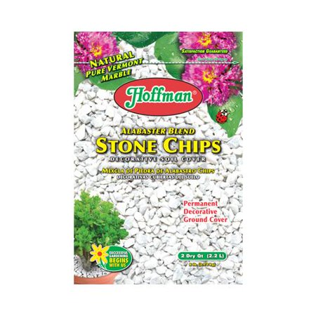 Good earth horticulture 14102 white decorative rock 2qt for Landscaping rocks walmart