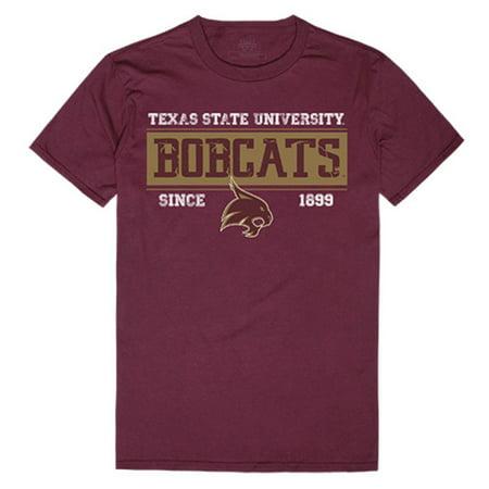 Texas Christian University Athletics - Texas State University Boko the Bobcat Established Tees T-Shirt