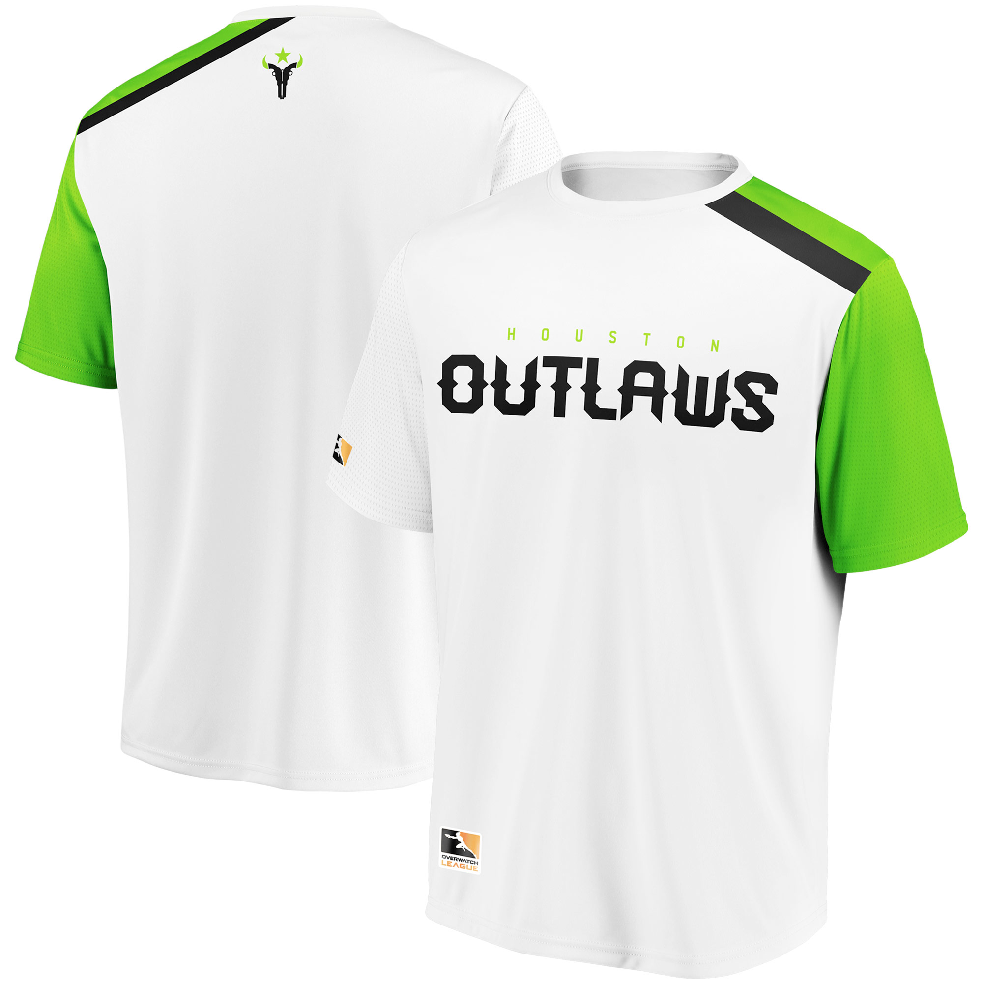 Houston Outlaws Overwatch League Replica Away Jersey - White