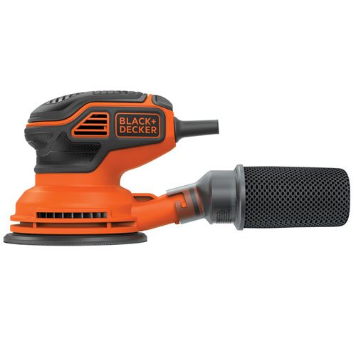 Black & Decker BDERO600 Random Orbit Sander with Paddle Switch Actuation, Dry6Cup RO410S... by