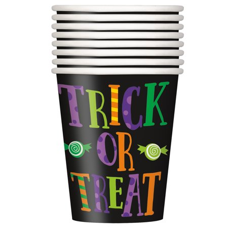 Silly Monsters Halloween Paper Cups, 9 oz, - Halloween Capes