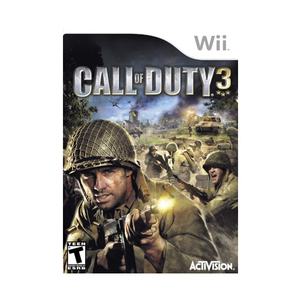 Call Of Duty 3 Wii Walmart Com Walmart Com