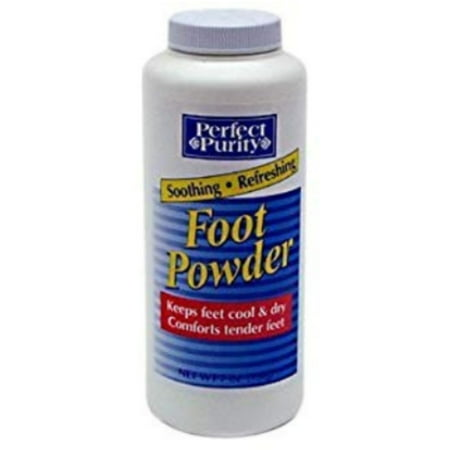 Perfect Purity Soothing and Refreshing Foot Powder, 7 oz - (Pack of 1) Soothing Foot Powder