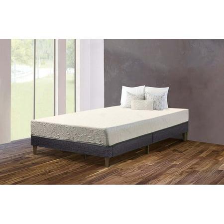 purest of america 6 short queen memory foam mattress. Black Bedroom Furniture Sets. Home Design Ideas