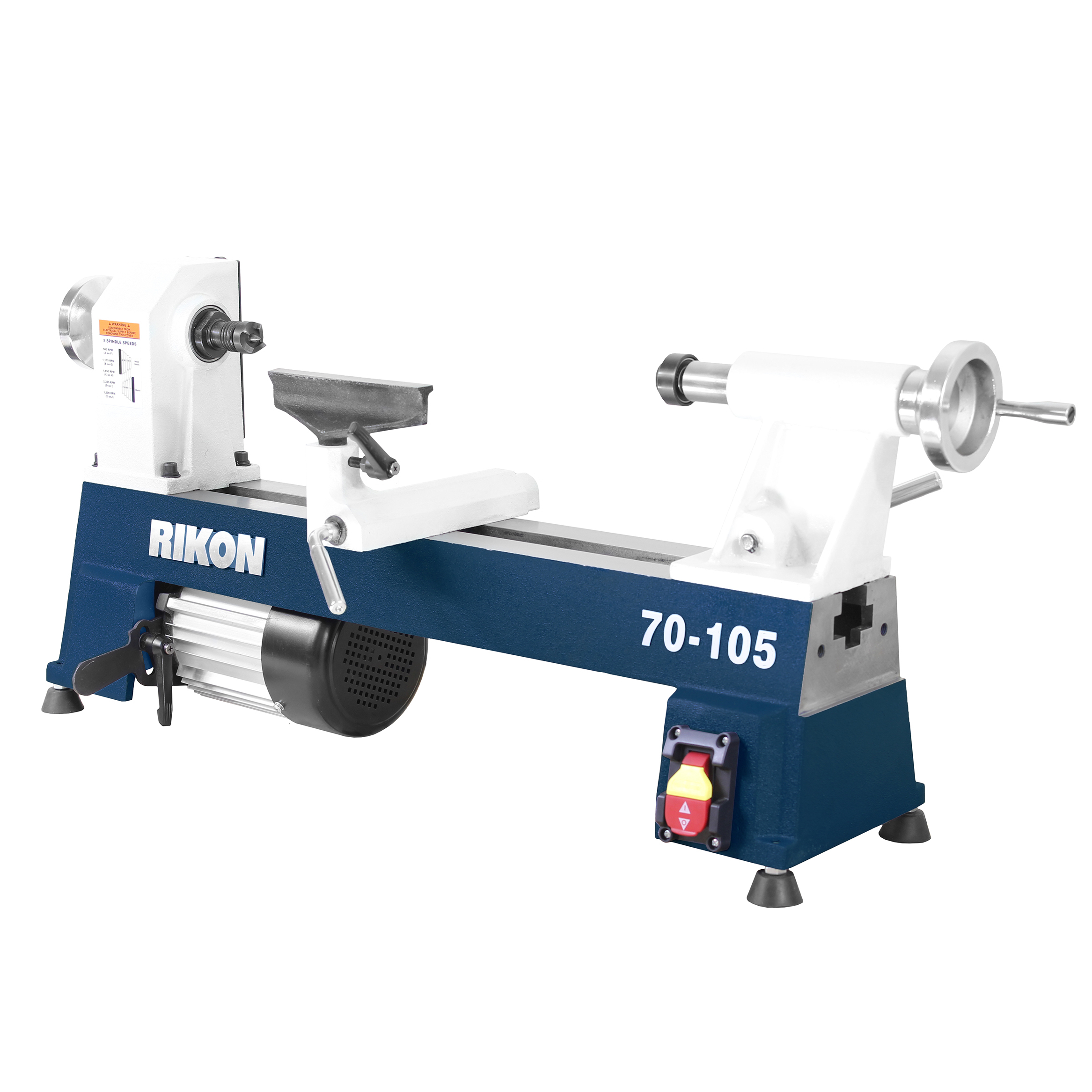 "Rikon 70-105 10"" x 18"" Mini Lathe by Rikon Power Tools"