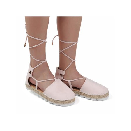 7be7d42389f84e Meigar - Meigar Summer Women Casual Shoes Ballet Shoes Ladies Bohemia Ankle  Strappy Espadrille Sandals - Walmart.com