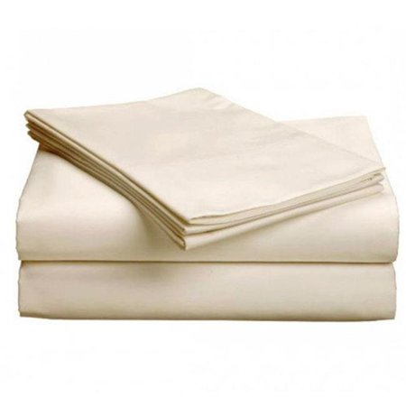 Gotcha Covered Luxe Bed Sheet Set Deep Profile, Ivory - Twin Extra Large