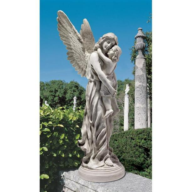 Guardian Angel Garden Statue, Angel Outdoor Statues