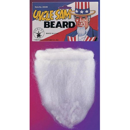 Uncle Sam Beard Adult Halloween Accessory](Halloween Face Painting Beard)