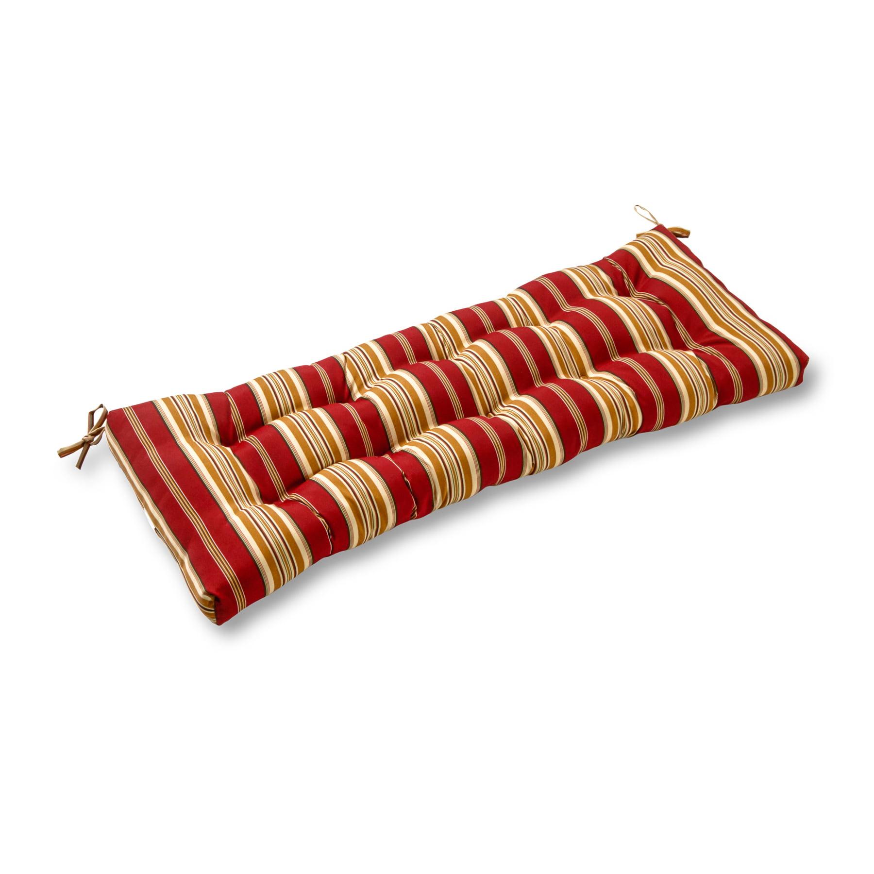 Roma Stripe 44 x 17 in. Outdoor Swing/Bench Cushion