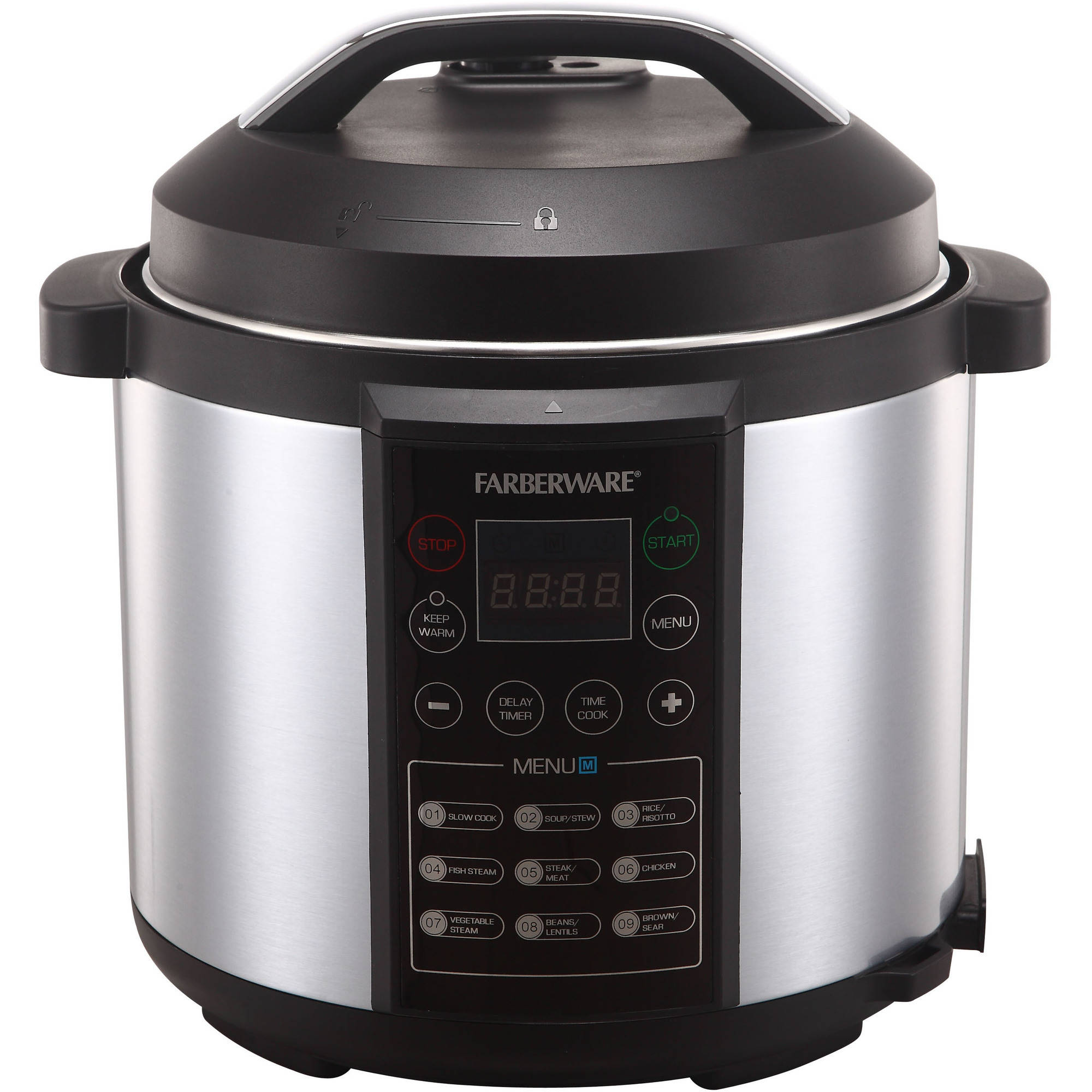 Kitchen small appliances victoria bc - Farberware 6 Qt Digital Pressure Cooker