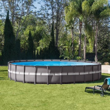 "Intex 26' x 52"" ULTRA XTR Frame Above Ground Pool Set w/Filter Pump"