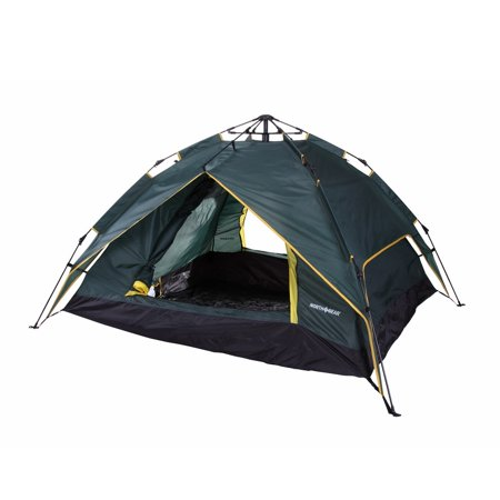 North Gear Camping Double Layer 3 Person Instant