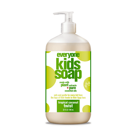 Everyone 3-in-1 Soap for Kids Tropical Coconut Twist 32 (Best Soap For Kids)