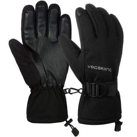 Winter Ski Touch Screen Gloves - Allcaca Winter Ski Gloves Waterproof Winter Gloves Warm Snow Snowboard Gloves Cold Weather Motorcycle Work Gloves for Women