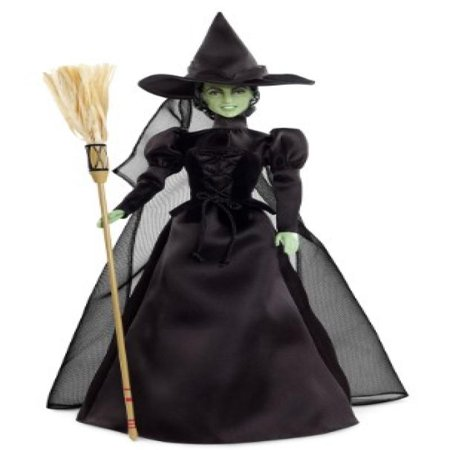 Barbie Collector Wizard of Oz Wicked Witch of The West Doll](Collectible Halloween Witch Dolls)