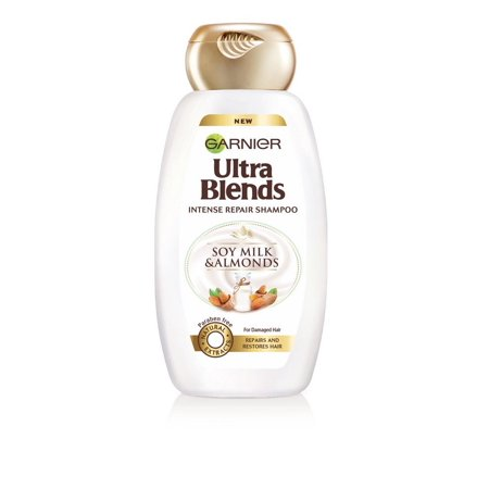 Garnier Ultra Blends Soy Milk and Almonds Shampoo,