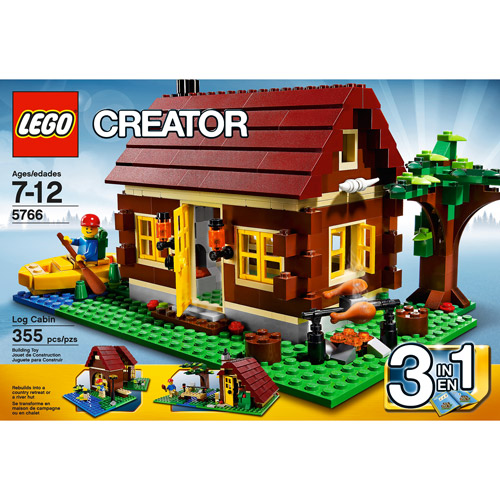 LEGO Creator Log Cabin Play Set