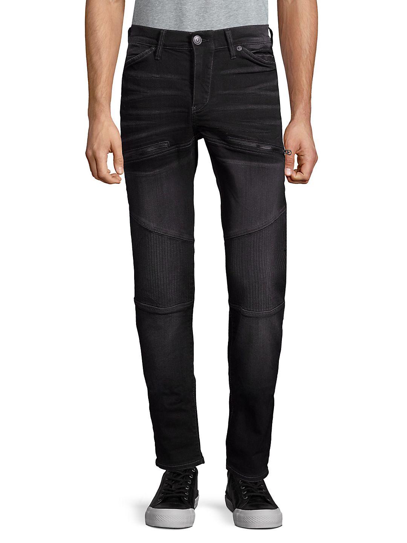 Rocco Moto Slim Fit Jeans