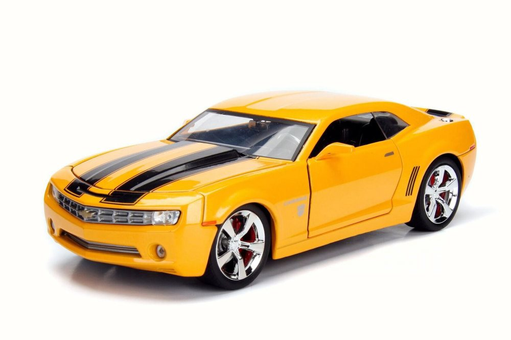 2006 Chevy Camaro Concept Bumblebee Yellow W Black Jada 99384 1 24 Scale Diecast Model Toy Car Brand New But No Box Walmart Com Walmart Com