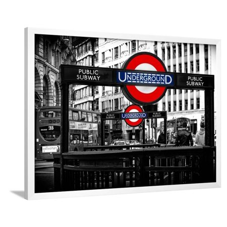 The Underground Signs - Subway Station Sign - City of London - UK ...