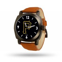 Pittsburgh Pirates Sparo Brown Strap Watch