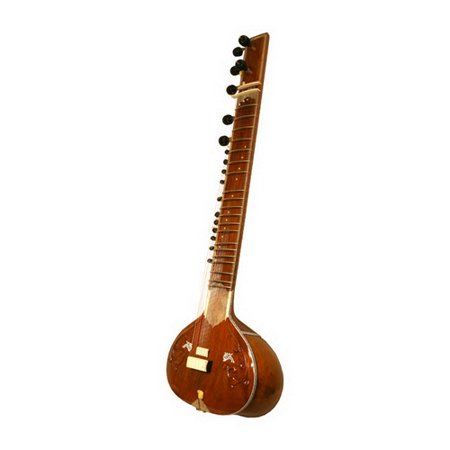 Mid-East Sitar, Standard, Single Toomba, Natural