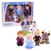 Disney Frozen 2 Stylized Plush Collector Set, Ages 3 +