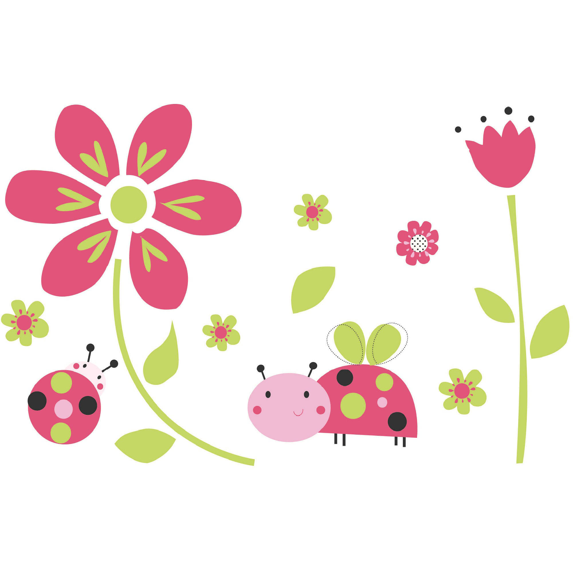 Lil Lady Bug- Wall Decals