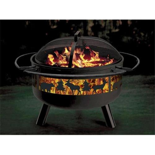 Stone River Gear SRG2FP-BIGGAME Wildlife Combo Firepit-Grill