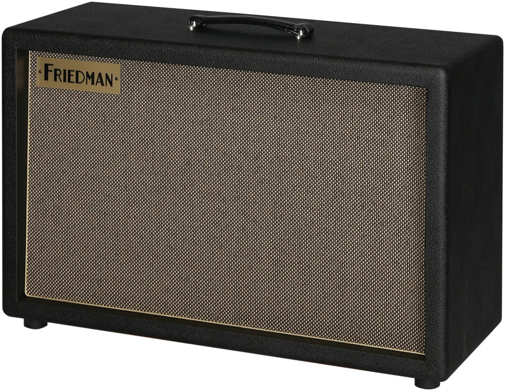 Friedman Runt 2x12 EXT 120W 2x12 Ported Closed Back Guitar Cabinet with Celestion Vintage... by Friedman