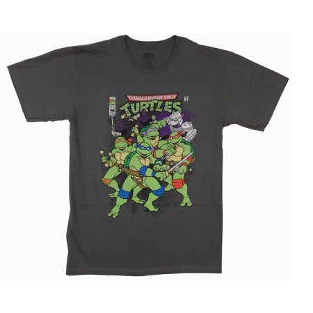 Teenage Mutant Ninja Turtles Ready For Action Adult T-Shirt for $<!---->