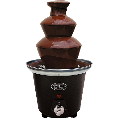 Nostalgia Electrics Mini Chocolate Fondue Fountain, CFF965