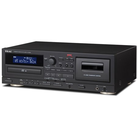 Teac Cassette and CD Player with USB Recorder and Mic Input (Teac Cd 2000 Cd Sacd Player Review)