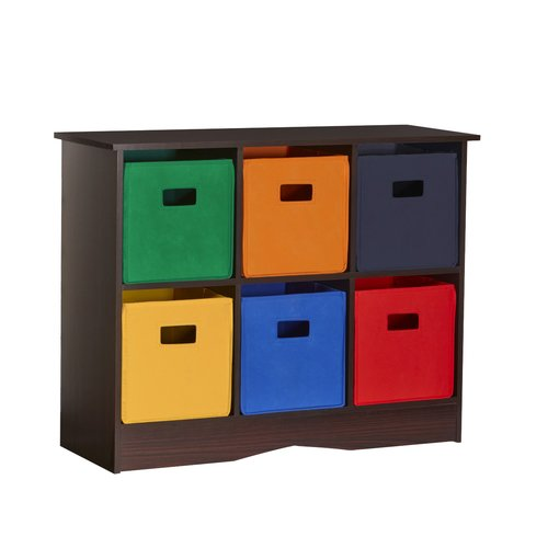 RiverRidge Home RiverRidge 6 Compartment Cubby for Kids