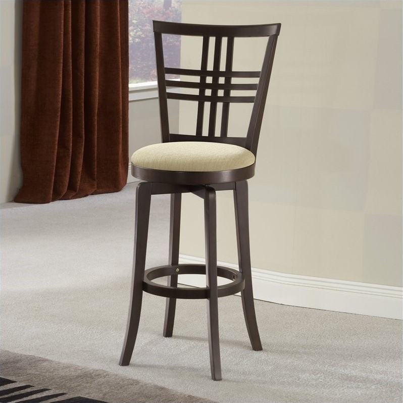 Hillsdale Tiburon Swivel Counter Height Stool, Espresso