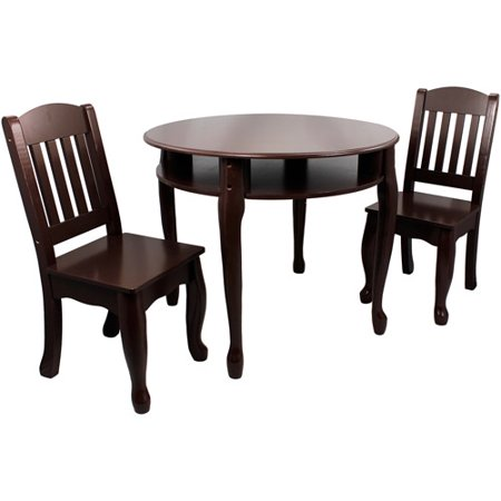 Teamson Kids Windsor Round Table and 2 Chairs Set