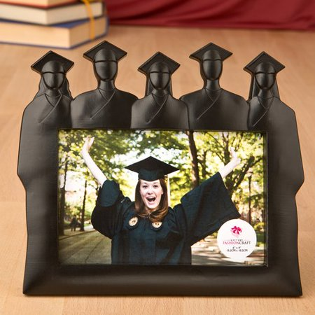 Fashion Craft Graduation Silhouette Group Picture Frame