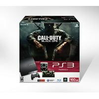 Refurbished Sony PlayStation PS3 Slim 160GB Console Black Ops Bundle