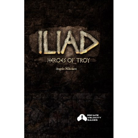 Escape Velocity Card Game: Iliad - Heroes of Troy - Halloween Escape Games