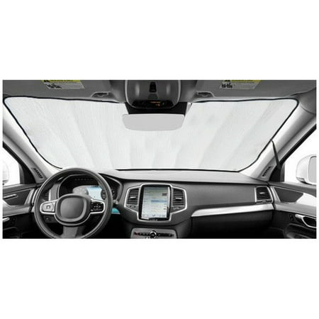 Sunshade for 2011 2012 2013 2014 2015 2016 2017 Honda Odyssey w/o Windshield-Mounted Sensor Custom Fit Windshield