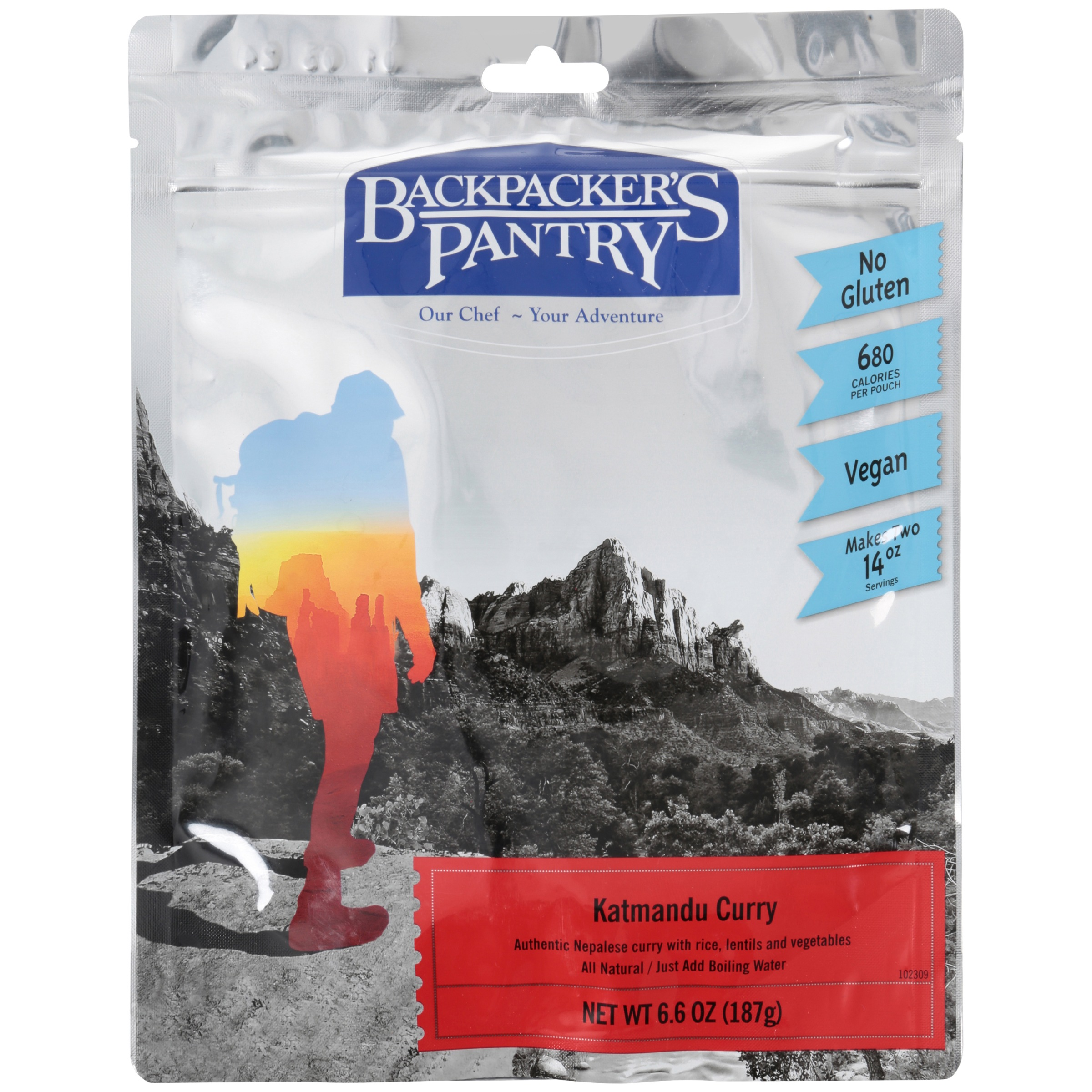 Backpacker's Pantry Katmandu Curry 6.6 oz. Peg