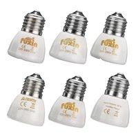 Diameter 45MM White Infrared Ceramic Emitter Heat Light Lamp Bulb For Reptile Pets Brooder AC220V