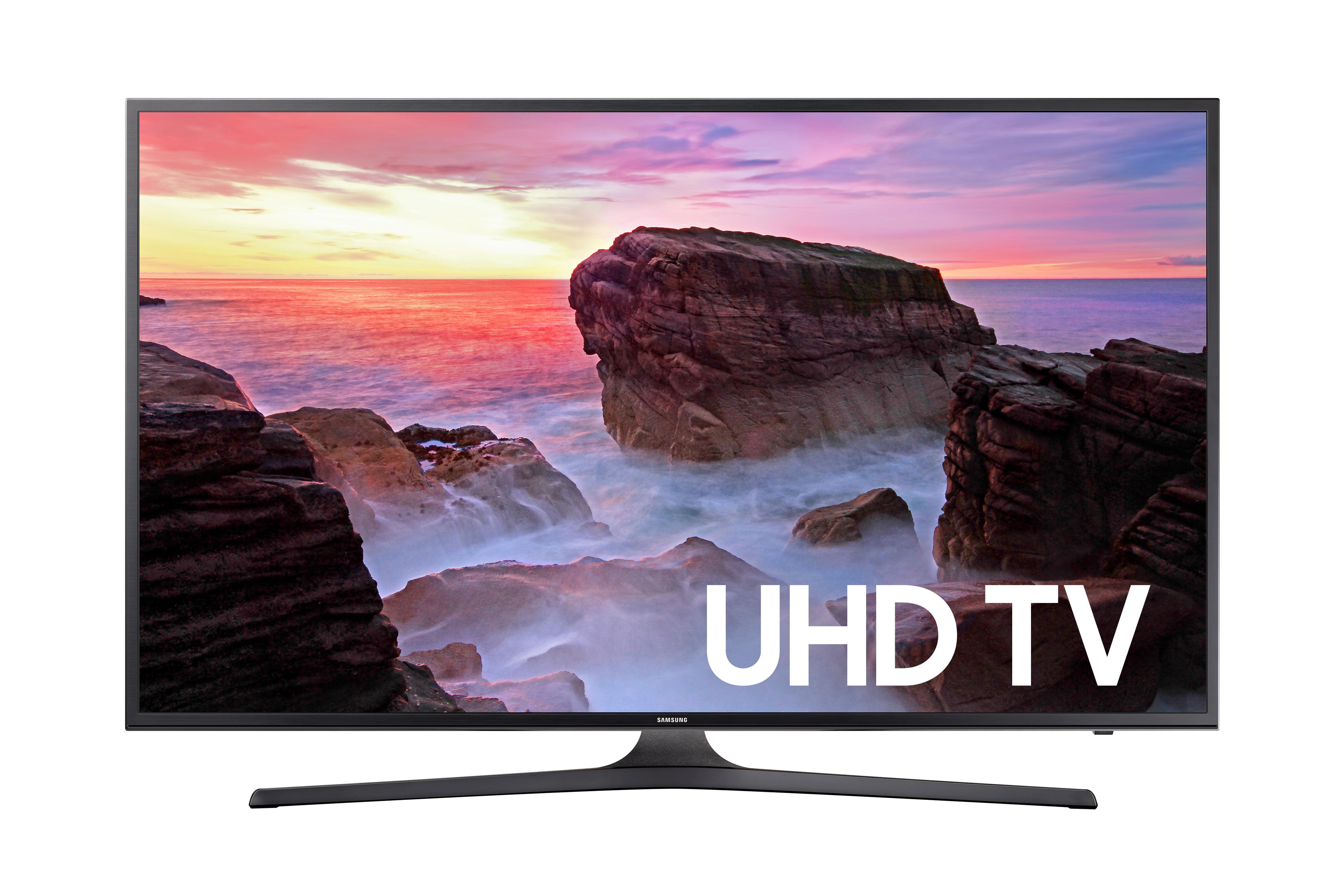 "Click here to buy Samsung 58"" Class 4K (2160P) Smart LED TV (UN58MU6070) by Samsung."
